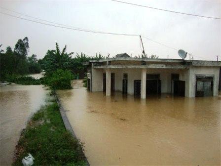 Thí điểm dự án chống biến đổi khí hậu tại Quảng Bình
