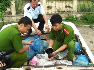 Việt-Lào tăng cường hợp tác chống buôn lậu các loài hoang dã