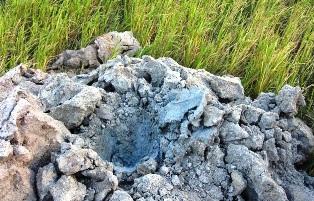 Hiện tượng bùn phun không ảnh hưởng đến kinh tế, dân sinh
