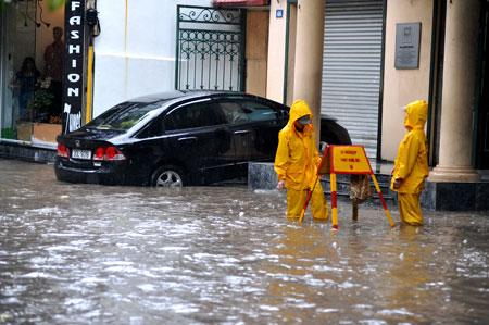 Phê duyệt phương án phòng chống lụt bão úng và bố phòng hộ đê 2011