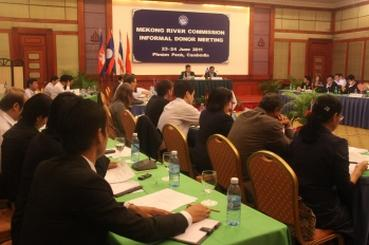 Thông tin Lào tiếp tục xây dựng đập Xayaburi gây lo ngại