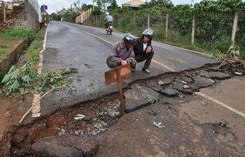 Lâm Đồng: Di dời dân khỏi khu vực sụt lún