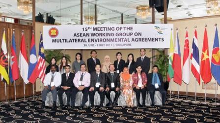 Hội nghị của Nhóm công tác ASEAN các công ước quốc tế về môi trường
