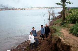 An Giang: Cảnh báo 56 đoạn sông có nguy cơ sạt lở