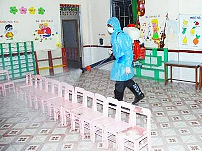 Hà Nội triển khai chiến dịch chống bệnh tay chân miệng và sốt xuất huyết