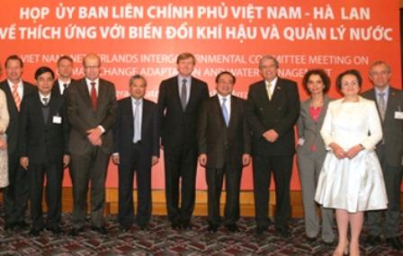 Hợp tác chiến lược Việt Nam – Hà Lan về biến đổi khí hậu