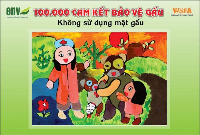 100.000 cam kết bảo vệ gấu cùng Uyên Linh