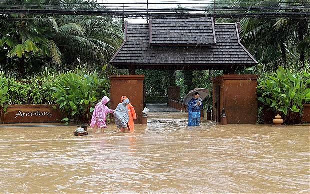 Thái Lan báo động tình trạng lũ lụt trên 1/3 số địa phương