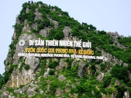 Di sản thiên nhiên thế giới VQG Phong Nha - Kẻ Bàng (Ảnh: Dân Trí)