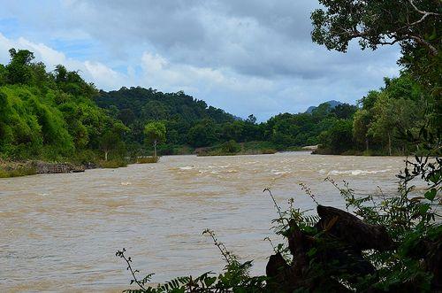 Khu vực dự kiến xây đập Don Sahong (Ảnh: IR)