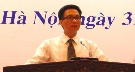 Bộ trưởng, Chủ nhiệm Văn phòng CP Vũ Đức Đam. Ảnh: Chung Hoàng