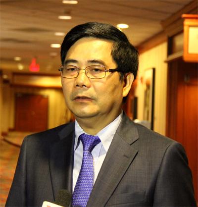Bộ trưởng Bộ Nông nghiệp và Phát triển nông thôn Cao Đức Phát. Ảnh: Yên Ba