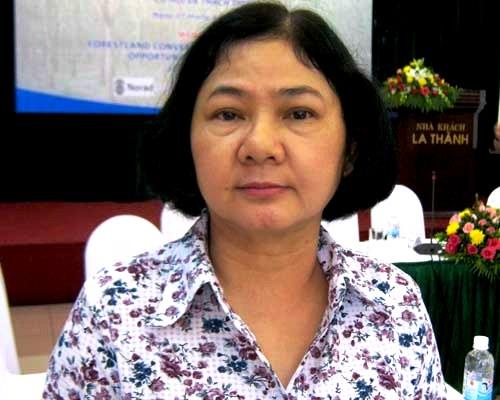 TS.Trần Thị Thúy Hoa, Chánh văn phòng Hiệp hội Cao su Việt Nam (VRA)