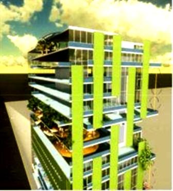 Thành phố tương lai: Những nhà cao tầng trồng tảo