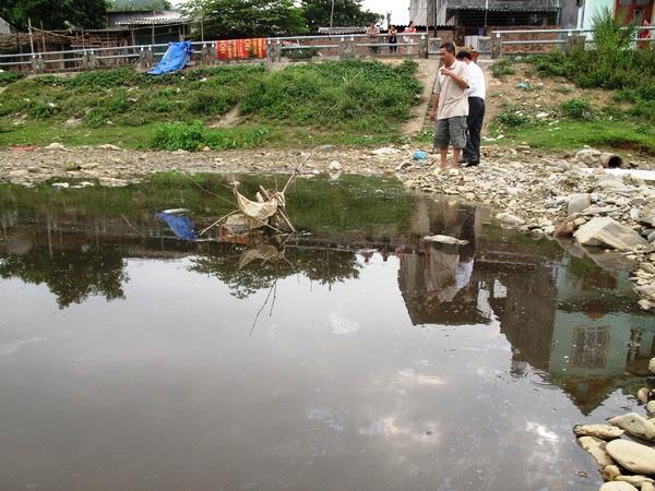 Công ty lâm sản Bắc Kạn ngang nhiên xả nước thải