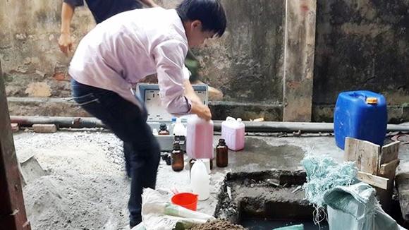 Công ty Happrosimex Thăng Long xả thải gây ô nhiễm môi trường