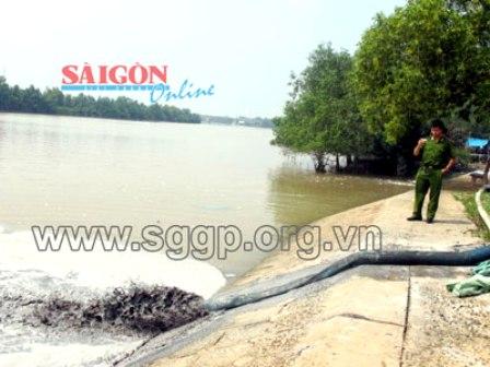 Công ty Hào Dương lại xả thải ra môi trường