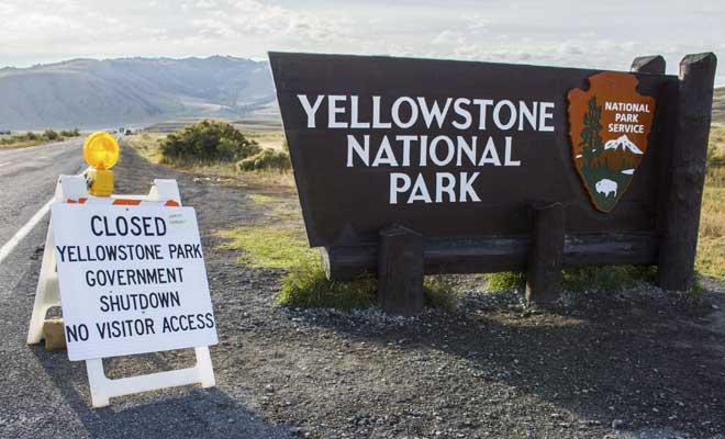 Một ngày đóng cửa, một công viên QG Mỹ mất hơn 750.000 lượt khách