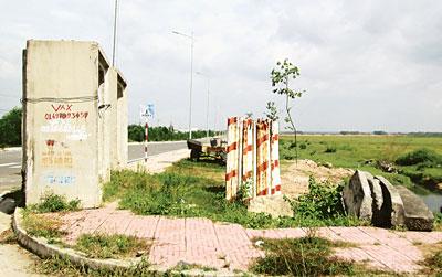 KCN Nhơn Trạch VI, Đồng Nai sau nhiều năm quy hoạch vẫn còn là bãi đất trống (Ảnh: Sài Gòn Giải Phóng)