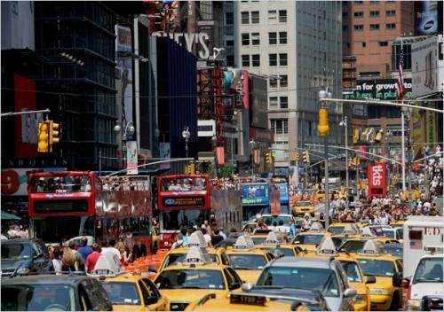 Một đường phố ở New York (Ảnh: nytimes.com)