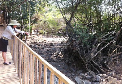 Vụ thủy điện làm cạn nước sông Srêpốk: Xây đập tràn cứu thác Bảy Nhánh