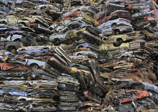 10 hình ảnh gây sốc về chất thải điện tử và sinh hoạt