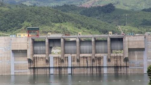 Đập thủy điện Sông Tranh 2 (Ảnh: Huy Bình/Lao Động)