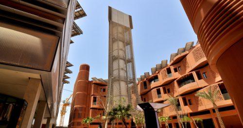 Phối cảnh các tòa nhà ở Masdar (Ảnh: ecotraveller.tv)