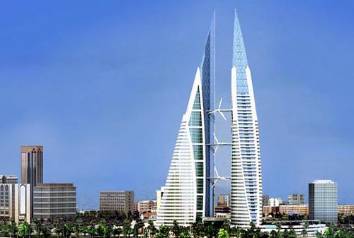 Toàn cảnh tòa nhà Trung tâm thương mại thế giới Bahrain (Ảnh: Báo Tin Tức)