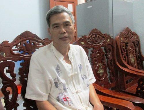 Ông Nguyễn Xơn, nguyên Trưởng phòng Thủy lợi, sở NN&PTNT tỉnh Quảng Bình. (Ảnh: vov.vn)