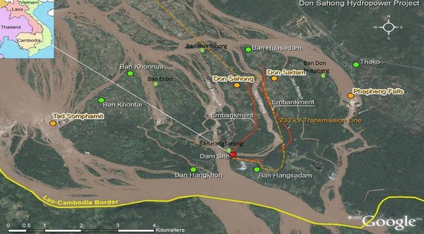 Đập Don Sahong đe dọa nghiêm trọng nguồn thủy sản lưu vực Mê Kông