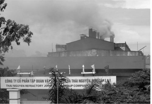 Nhiều nhà máy, doanh nghiệp vẫn chưa có biện pháp bảo vệ môi trường triệt để. (Ảnh minh hoạ: Báo Pháp luật Việt Nam Điện tử)