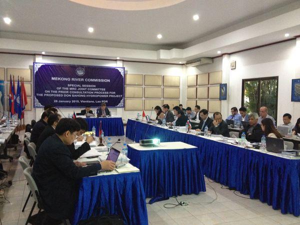 Yêu cầu gia hạn thời gian tham vấn đối với dự án thủy điện Don Sahong