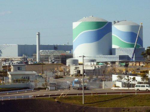Hai lò phản ứng hạt nhân của nhà máy Sendai (Nhật Bản). (Nguồn: Kyodo/TTXVN)