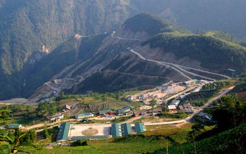 Một công trình thủy điện nhỏ được xây dựng tại Sa Pa, tỉnh Lào Cai. (Ảnh: Ngọc Hà)