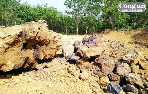 Cảnh báo tình trạng thương lái Trung Quốc thu mua quặng sắt trái phép