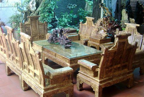Tàn phá rừng vì thú chơi đồ gỗ