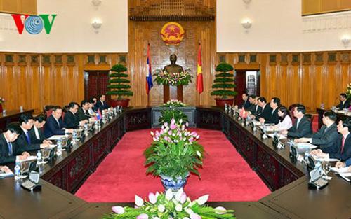 Thủ tướng Lào Thammavong nói về đập thủy điện trên dòng chính Mê Kông