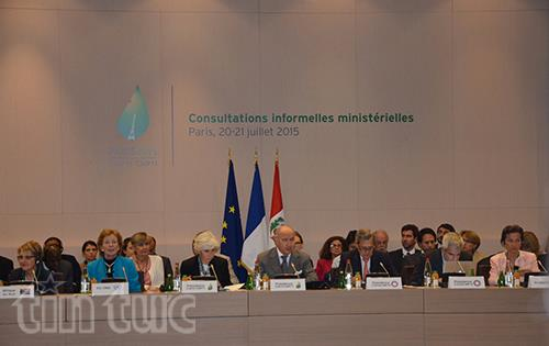 Tham vấn không chính thức cấp bộ trưởng về khí hậu tại Paris