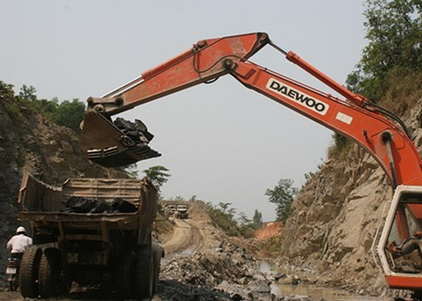 Một mỏ khai thác đá trên địa bàn TP Đà Nẵng (Ảnh: Lê Phi/Pháp luật TP.HCM)