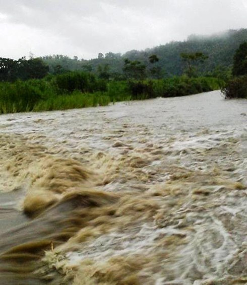 Hình ảnh nhiều bản ở vùng cao Thanh Hóa bị cô lập do mưa lũ