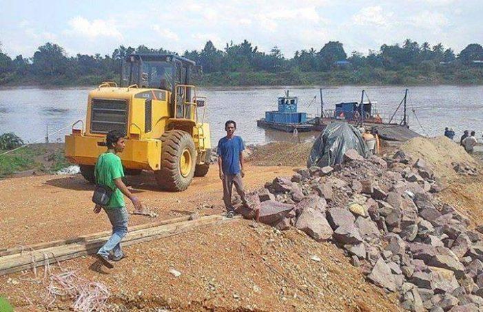 Đập Don Sahong vẫn đang được xây dựng