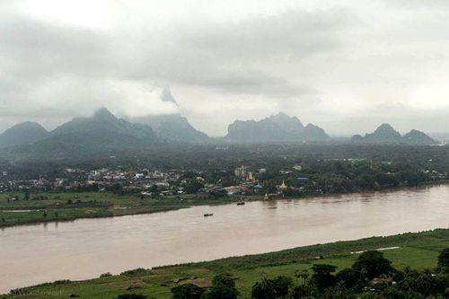 Myanmar bắt tay Thái Lan, Trung Quốc xây đập đầu tiên trên dòng chính sông Thanlwin