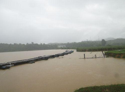 Cầu Phao tại xã Phương Mỹ, huyện Hươn Khê bị hư hỏng nặng