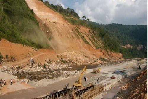 Dự án thủy điện Kamchay (Campuchia) do Tập đoàn Sinohydro làm chủ đầu tư (Ảnh: Terria)