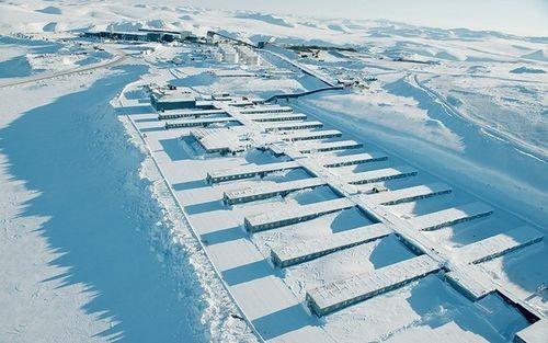 Mỏ vàng Kupol được phát hiện lần đầu tiên vào những năm 1940 tại miền đông bắc nước Nga.