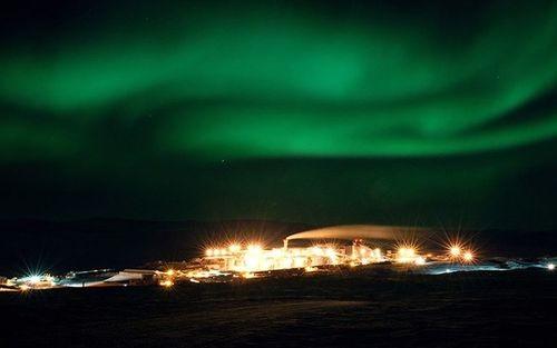 Mỏ vàng Kupol do công ty Kinross của Canada sở hữu.
