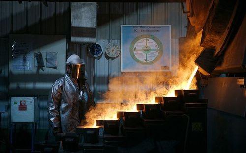 Quặng lần đầu tiên được khai thác tại khu mỏ Kupol vào năm 2008. Vàng và bạc nguyên chất được sản xuất từ mỏ vàng Kupol.