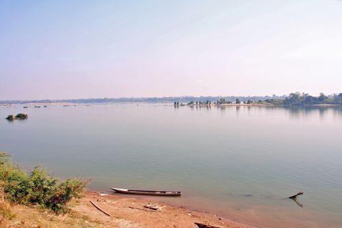 Sông Mê Công yên bình (Ảnh: Trịnh Lê Nguyên/ PanNature)