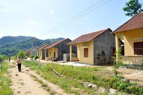 Nhiều khu TĐC dự án thuỷ điện thiếu đất sản xuất, ảnh hưởng đến đời sống người dân (Ảnh: NP)